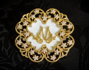 Colgante Medallón - Broche siglo XVIII ref. BP1