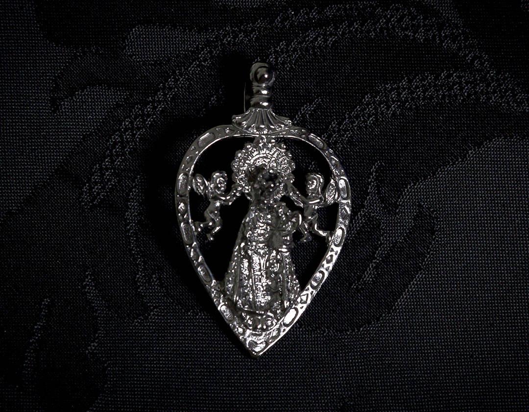 Medalla de la Virgen de los Desamparados ref. 48 rutenio