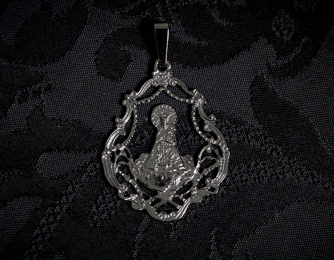 Medalla de la Virgen de los Desamparados ref. 50 rutenio