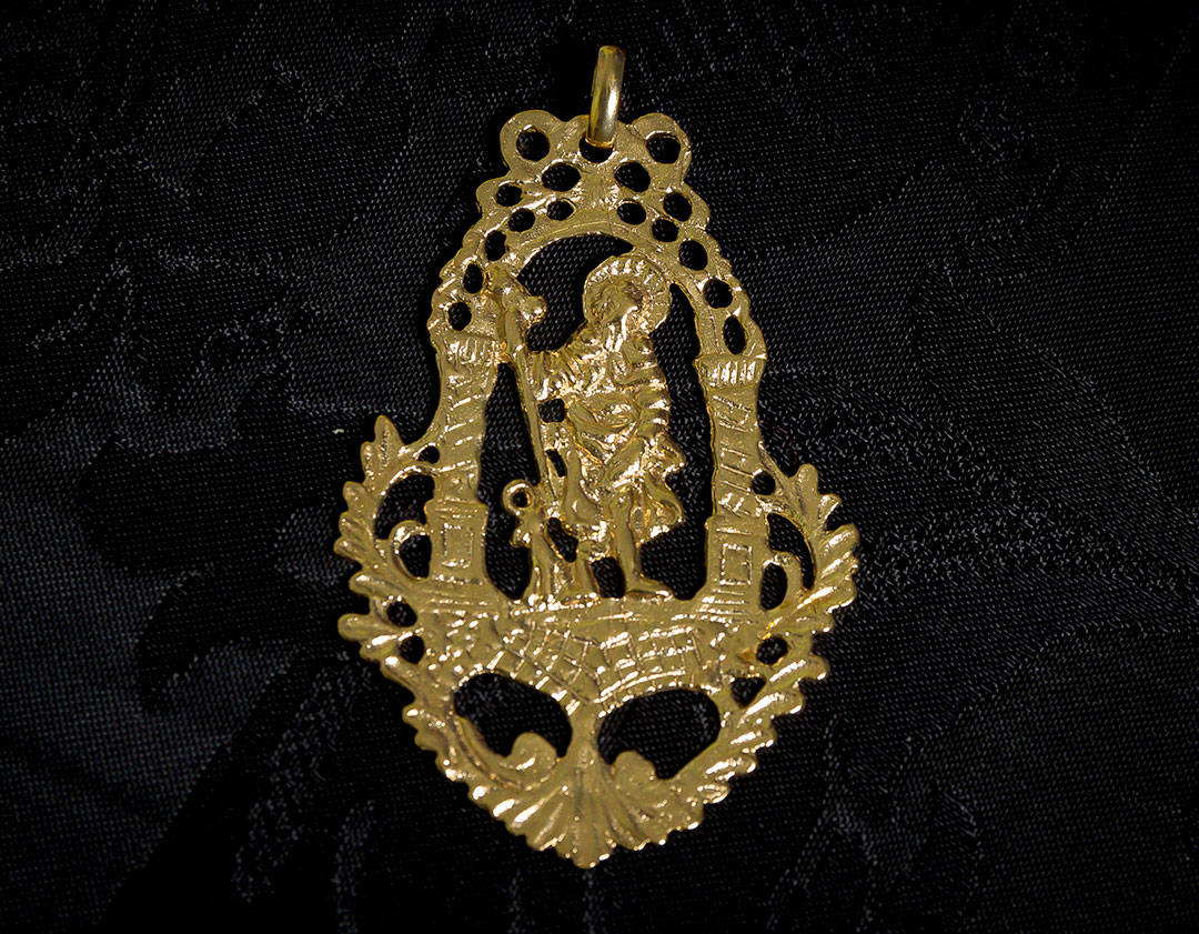 Medalla de San Roque ref. 56 oro