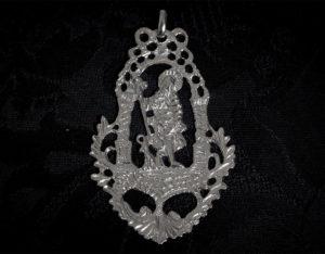 Medalla de San Roque ref. 56 rodio