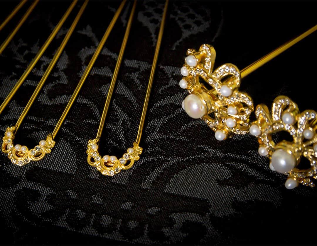 Aderezo del siglo XVIII modelo de a uno ref. m159 cristal y perla