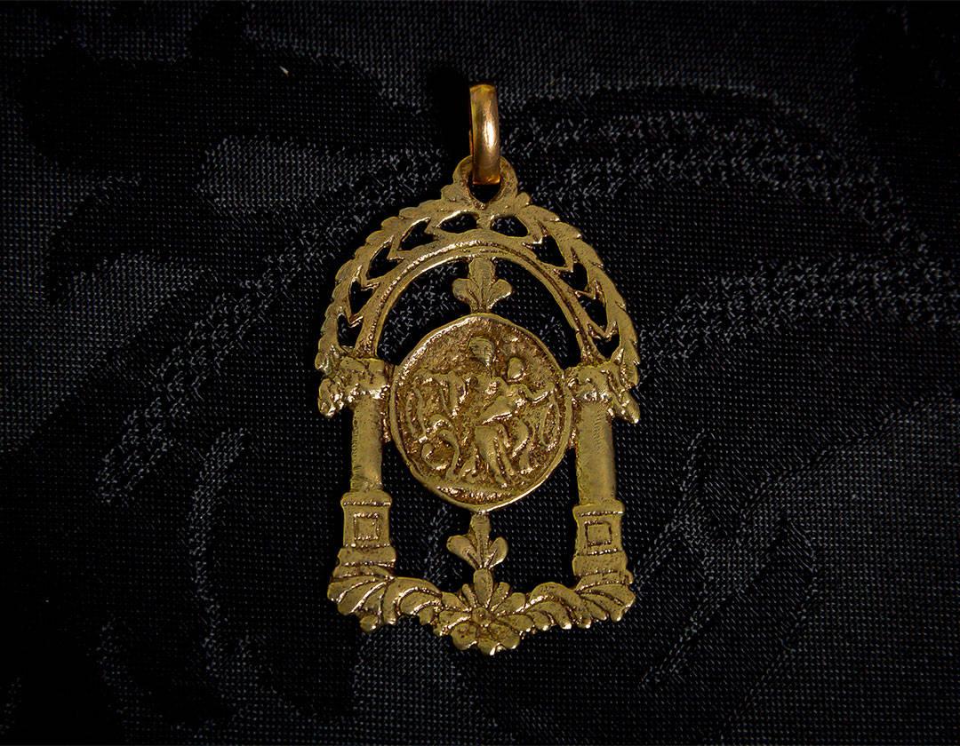 Medalla de San José ref. 59 bronce inglés
