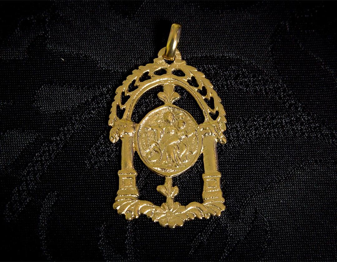 Medalla de San José ref. 59 oro