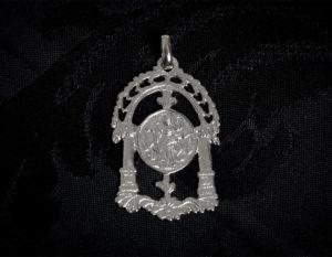 Medalla de San José ref. 59 rodio