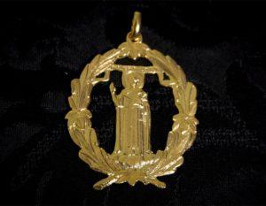 Medalla de San Vicente ref. 61 oro