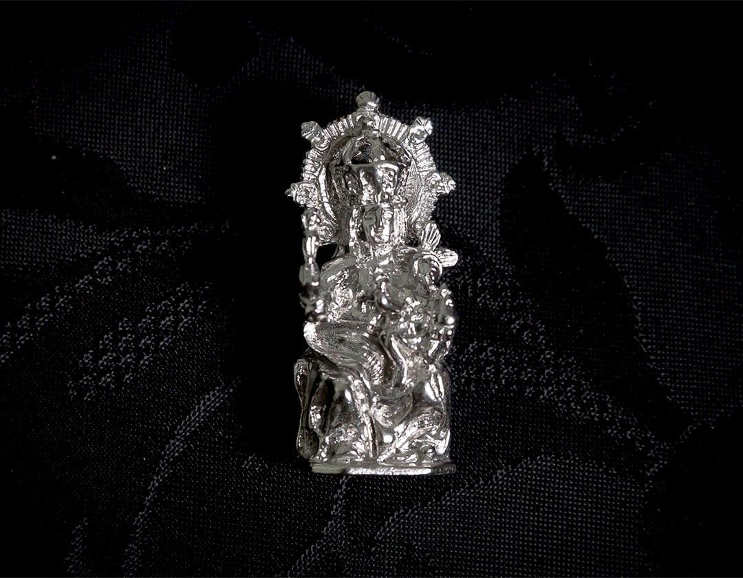 Broche de la Virgen de la Salud ref. 41 rodio