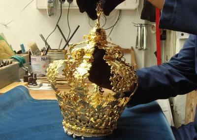 Corona Virgen Salud